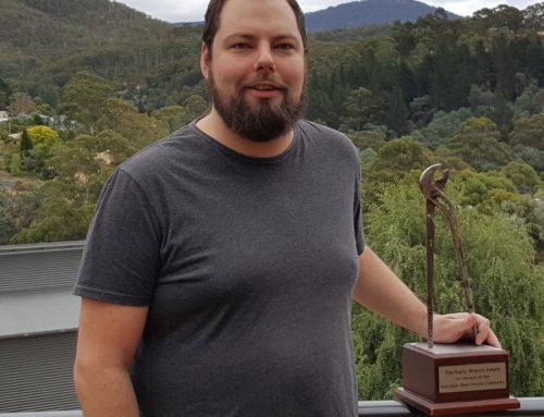 Joshua Hesketh awarded the Rusty Wrench 2019
