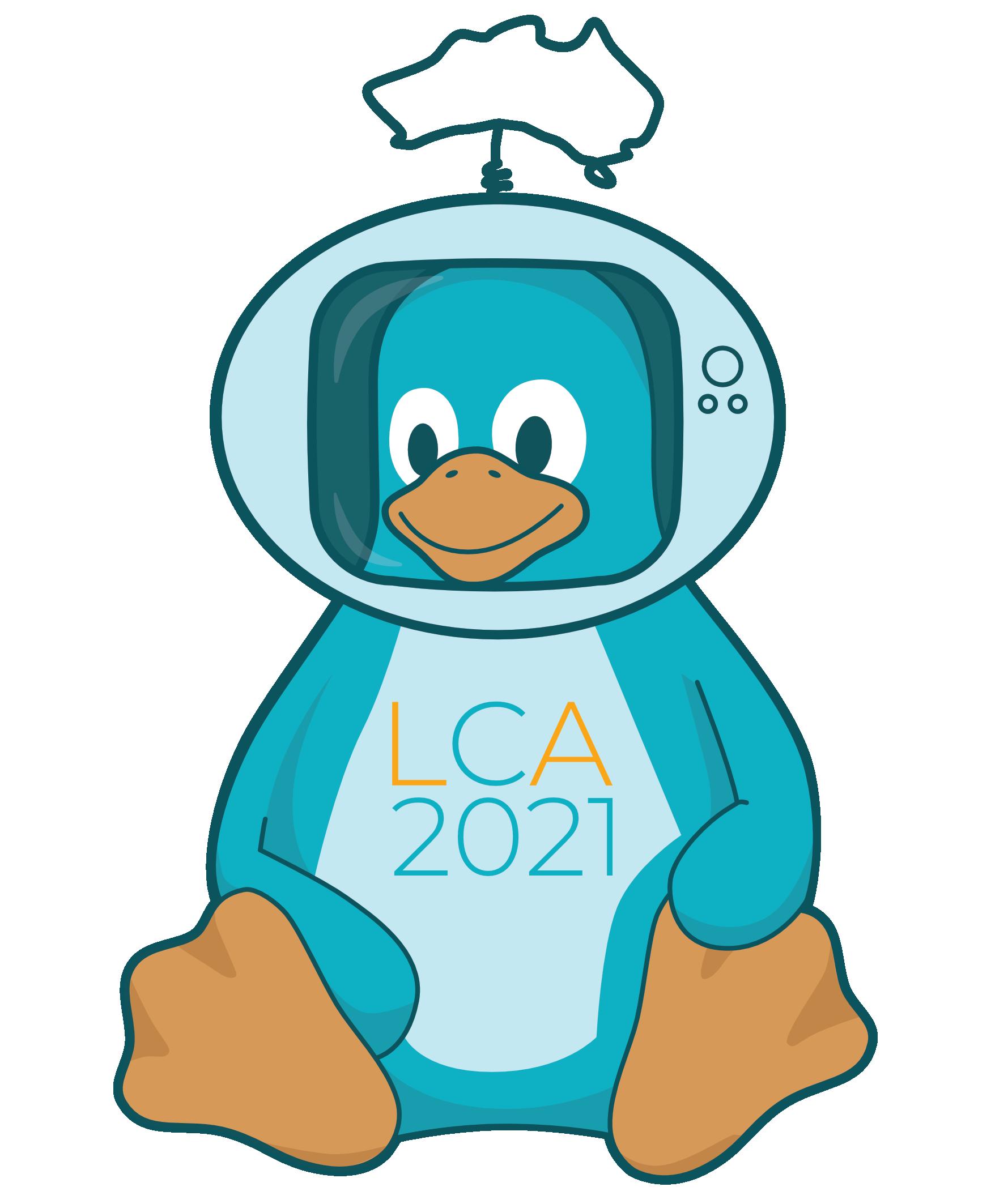 lca2021 tux